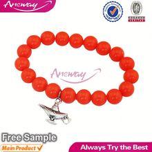 L07611 3 Customized Jewlery Expert Teapot Charm 2012 Fashion Beaded Bracelet
