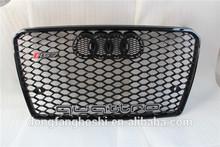 Auto grille of car body parts in sport design gloss black finish