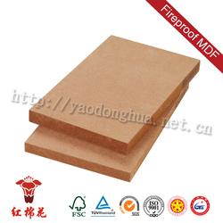 E1 class mdf durable 1220*2440mm de muebles de mdf for kitchen cabinet