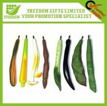 Customized Logo Print Promotional Vegetable Pen