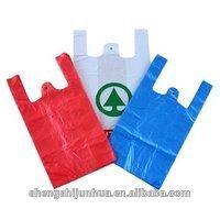 Die cut hdpe transparent plastic shopping bags wholesale