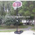 portatile tabellone basket stand cerchio netto set regolabile in altezza con ruote