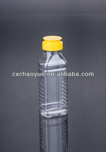 New products packaging square honey packing bottle 350g