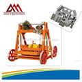 Vibrando máquina do bloco fabricação de tijolos pequena máquina apropriada para a construção de sua própria Manual de máquina de bloco de concreto
