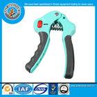 Blue Color Massage Handle Adjustable Hand Power Grip