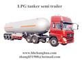 Gnl gnc ang, líquido criogênico reboque tanque e tanque de armazenamento