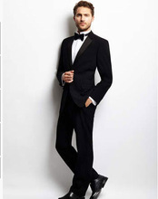 2014 Black Great Value Tuxedo Trousers