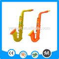 saxophone gonflable pvc jouets en plastique coloré