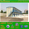China low cost Easily to install and disassemble prefab steel house,africa prefab steel house project