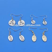Custom Earrings Charms, Craft Earrings Manufacturer