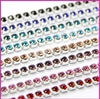 Wholesale strass roll rhinestone close cup chain rhinestone lace roll chain