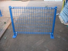 PVC Dipped coating steel wires Double-circle wire Mesh Fence or netting