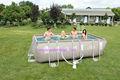 Cadre rectangulaire piscines, Bestway métal cadre piscine ensemble rectangulaire
