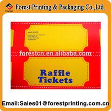 Scratch to win raffle tickets