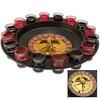 Roulette Wheel Drinking Game Set - 16 Shot Glasses