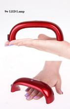 Nail LED UV lamps.9W UV Nail Lamp.nail supply with high value