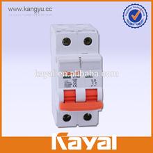 KEMA certificate C65 circuit breaker mcb, high breaking capacity 10KA mcb mini circuit breakers