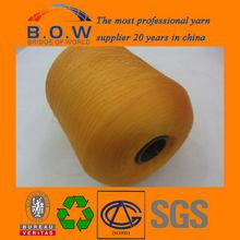 China factory wholesale supply 100% polyester Twist Yarn for knitting hot sell zhejiang