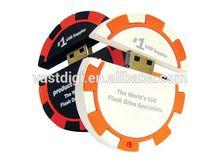 Logiciel de flash numérique récepteur 2D / 3D PVC caoutchouc personnaliser clé USB
