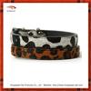 retractable animal print dog collar
