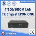 Adaptador de fibra óptica, cortina gigabit epon ont,, onu fibra com sgs certificado do ce!