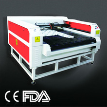 CX160100 big size high precision for high quality cloth making laser fabirc cutter machine