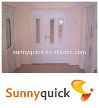 2014 Interior morden design promotional price U PVC doors
