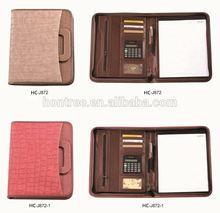PU Leather fashion design portfolio case
