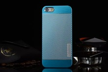 New High Quality Aluminum Brushed Cases For Case Iphone 4 4s 4G Mobile Phone Bag