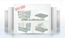 heavy duty stainless steeel storage cage