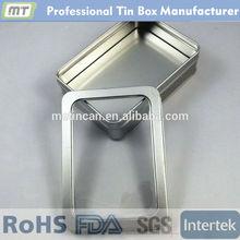 rectangular metal underwear packaging box , underwear packaging box
