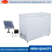 12v 24v 238L mini solar powered chest deep freezer