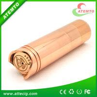 High quality Mechanical 18350/18500/18650 tubes Copper 4nine mod clone