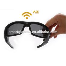 2014 Latest Original Sunglass WiFi Sunglass full hd 1080p mini sport camera dvr