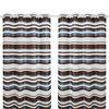 100% polyester customized fancy window curtain