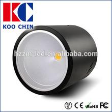 Open Install 21w COB LED Downlight black