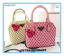 Latest Designer Women Sweet Handbags Fashion Dot Lady Office Handbag