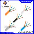 Fabricación profesional de definición de precios fob: fácil tirar de caja de 305 m cat5e cable utp/cat5/cat5e cca cable