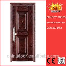 2014 new design main gate steel door