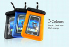 Universal PVC Waterproof Plastic Bag With Strap For Mobile Phone, waterproof case