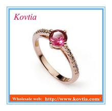 fashion bridal big ruby engagement ring