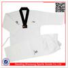 Martial arts equipment ribbed fabric wtf taekwondo uniform