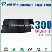 price per watt folding solar panels for car/boat/yacht/boat battery