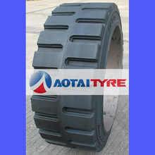high quality resilient polyurethane industrial linde 12.00-24 14.00-24 tyres solideal