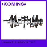 MD144525 Engine 6G72 6 Cylinder Mitsubishi Crankshaft