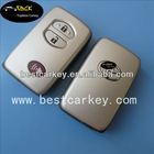 Topbest Toyota 3 button smart card cover Toyota Remote Key Case Blank Shell