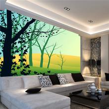 modern elegant tree design peelable wallpaper home decor