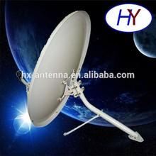 ku band 80cm tv satellite dish antenna with LNB