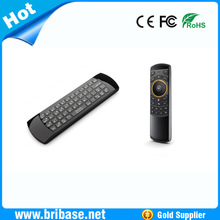 Low price 2.4G Wireless Air Mouse Keyboard & Infrared Remote Control Audio Chat for TV