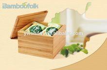 Bamboo snacks storage box / Bamboo storage cases / bamboo bento box